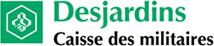 Logo Caisse Desjardins des Militaires